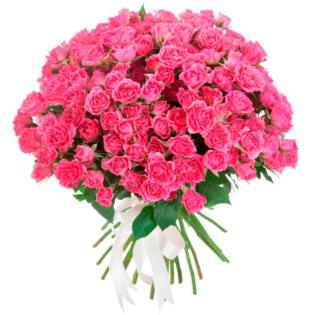 Розы Кустовые розовые